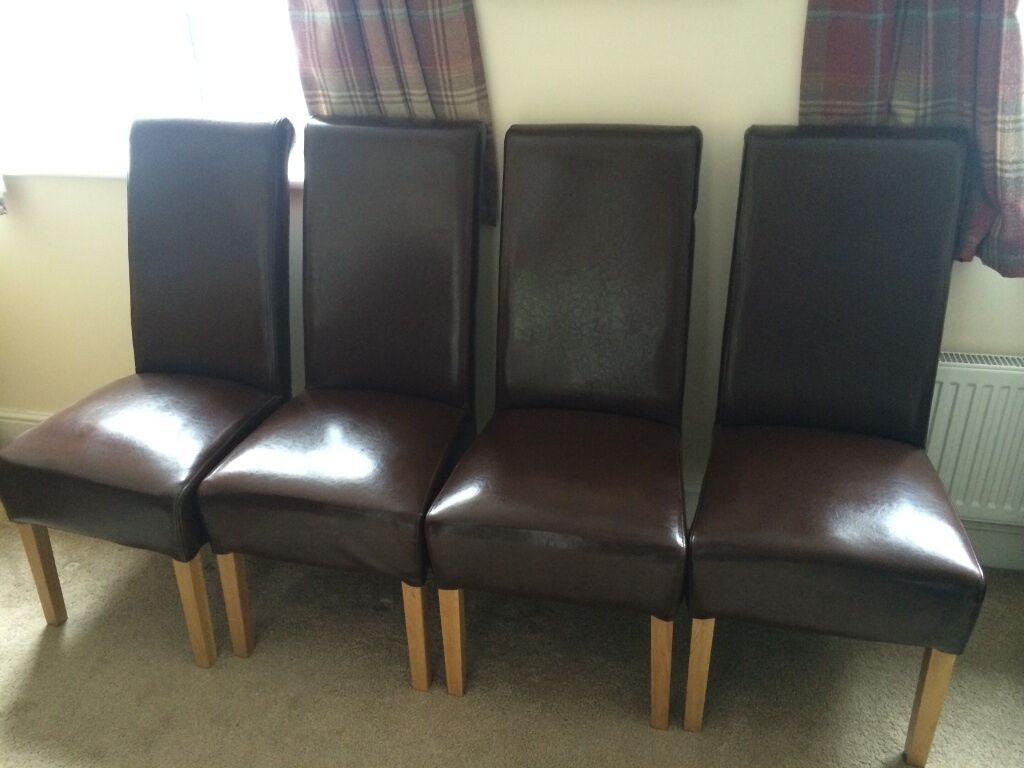 Leather Dining Chairs In Caerphilly Gumtree