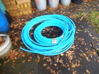 Water pipe blue unused surplus to requirements 25 mm