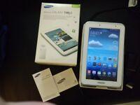 Samsung Galaxy Tab 2 7.0 8GB White Boxed + 8GB Samsung Micro SDHC Card