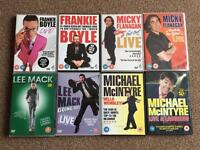 Stand up Dvds loads to choose from