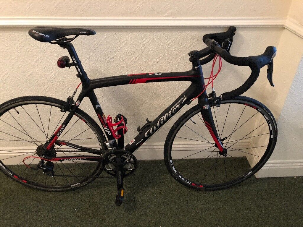 Wilier Triestina Izoard XP 105 2014, black and red, carbon fibre ...