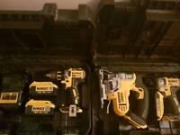 Dewalt 18v brushless set and jigsaw , lithium