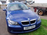 2007 BMW 318 DIESEL.MAY SELL CAR,VAN,MOTORCYCLE,WHY