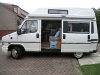 Camper Motorhome Fiat Ducato Autotrail 1993, ready to go, now sold !!