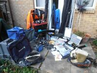 Massive Collection of Sea, Boat and Pier Fishing Gear