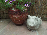 Concrete Life size Detailed Cat – Garden Ornament