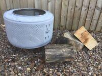Garden patio heater/ fire pit/burning bin