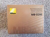 MB D200 BATTERY GRIP For Nikon D200 Camera