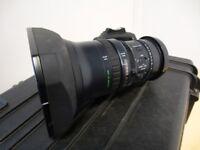 Fujinon XS8x4AS-XB8 Wide Angle Lens + Calumet Hard Case