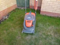 Flymo ultraglide lawnmower and Flymo strimmer