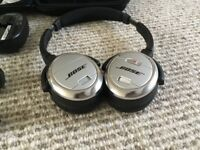 Bose QC3 noise cancelling headphones