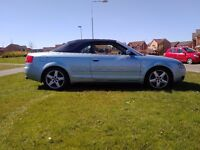 2005 AUDI A4 1.8T SPORT CONVERTIBLE LEATHER INTERIOR ELECTRIC ROOF