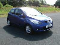 MAZDA 2 1.3 TS2 3 DOOR 12 MONTHS M.O.T 6 MONTHS WARRANTY (FINANCE AVAILABLE)