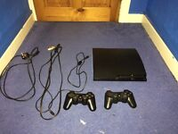 PS3 160Gb + 2 Controllers