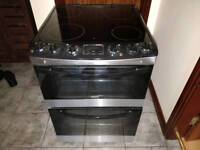 Zanussi double oven electric cooker