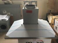 BOSCH Serie 4 Classixx DWW077A50B Chimney Cooker Hood - Stainless Steel