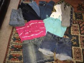 Girls clothes bundle ages 9-11 years 11 Items