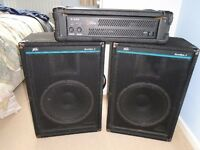 Band PA and stage monitor - used but in excellent condition.