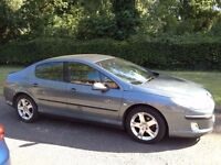 PEUGEOT 407 2.0 SE DIESEL 2006- 6 SPEED MOT MAY 2018 A VERY CLEAN RELIABLE CAR ALLOYS AIR BAG CD
