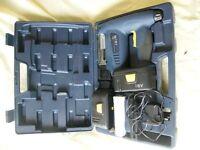NAIL GUN / BRAD NAILER 18V CORDLESS C/W 2 BATTERIES EXCELLENT CONDITION
