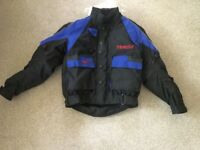 Small motorcycle jacket , used a few times