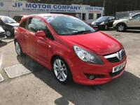 2009 VAUXHALL CORSA SXI AC RED **CHEAP INSURANCE **VXR LOOKS** CHEAP CAR