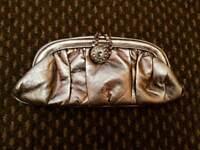 Brand New Gold Metallic Clutch Bag