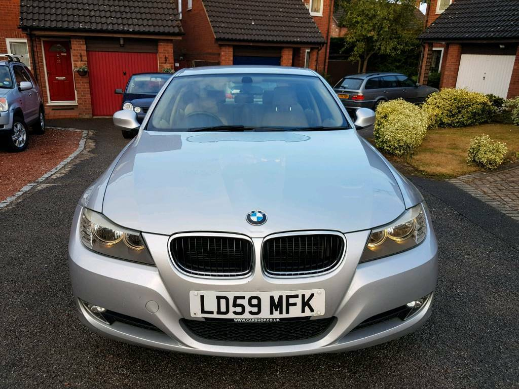 2009 Bmw 318d One Owner.START STOP 2xKeys Leather