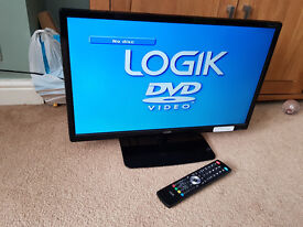 """Logik 24"""" Tv with Built in DVD Payer"""