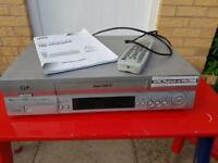 JVC video casette recorder with remote