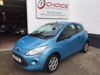 Ford KA 1.2 Studio 3dr ** £20 YEAR TAX ** FULL SERVICE HISTORY ** 1 OWNER **