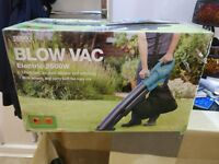 Brand New 3 in 1 Blow Vac 2500W