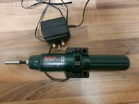 Bosch rechargeable cordless screwdriver. Immaculate condition...