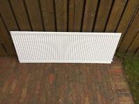 Quinn White single radiators c/w slips x 4