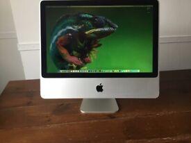 "20"" iMac 2.4GHz - 4GB Ram - 256GB SSD - Mojave"