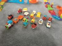 Vtech Toot-toot track and car bundle