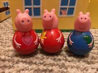 Peppa pig weebles - 3