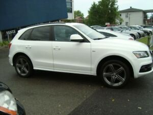 2011 Audi Q5 2.0 L SLINE PREMIUM PACKAGE BLUETOOTH DVD