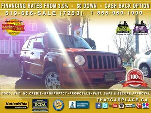 2009 Jeep Patriot $34Wk-Cruise Control-Keyless Entry-Roof Rack