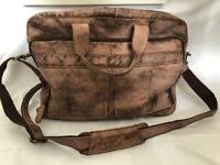 Handmade Real Leather Laptop Bag / Briefcase
