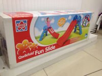 ** NEW GROW'N UP FUN SLIDE CHILDRENS TOYS OUTDOOR**