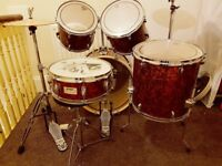 Mapex V Series 5 Piece Kit & Paiste PST 5 Hi-hats
