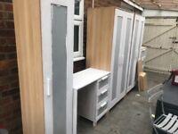 Wardrobe cupboard set