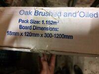Oak Brushed & Oiled Wood Flooring