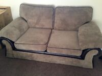 Brown Mink Sofa 2 seater 3 seater