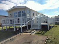 OCT DATES Exclusive SEA VIEW** Modern Platinum grade * 3 BEDROOM caravan for hire at Craig Tara!