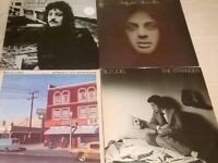 Billy Joel Vinyl/LP Lot (Some rare/promo/signed) L@@K!!!