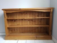 Solid pine bookcase / shelves