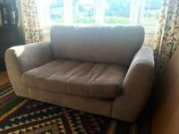 Oversized 2-seater sofa / loveseat - super comfy! £50 ono