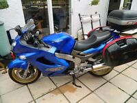 Kawasaki ZZR1200 with full Givi Panniers and Top Box, Good Clean Bike